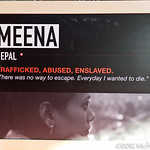 Poster frame of Meena, who appeared in the Freedom film